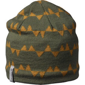 Isbjörn Hawk Bonnet en maille tricotée Enfant, olive